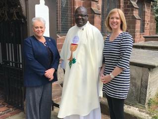 New Churchwarden at St Alban's