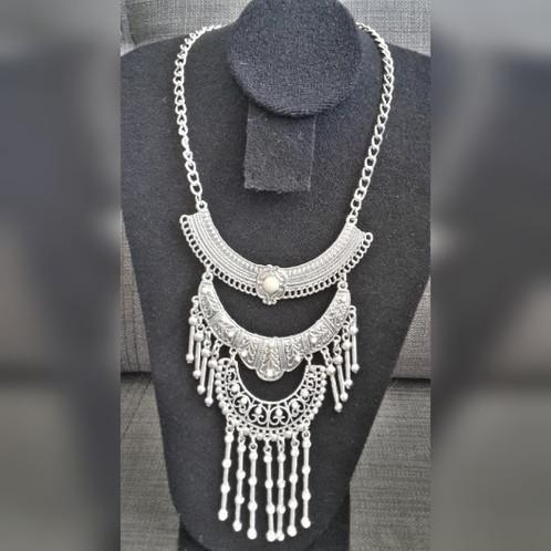 455717589fc0 Collar Fantasia Fina Palitos Colgantes