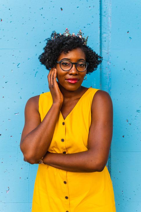 Author Dr. Donna Oriowo