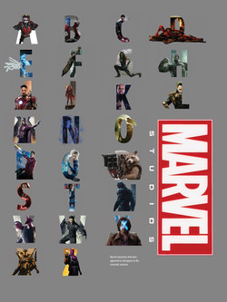 Marvel Alphabet