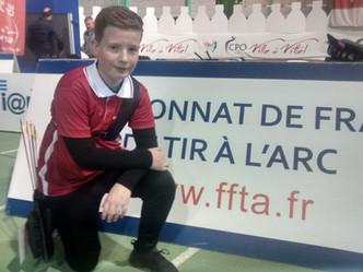 Antoine au championnat de France