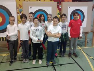 Belle prestation pour les jeunes archers lors du spécial jeunes de GEMENOS