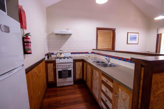 Cowrie Cottage Kitchen