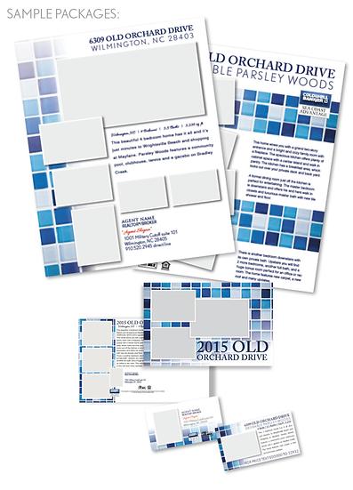 Be Vibrant Blue Mosaic