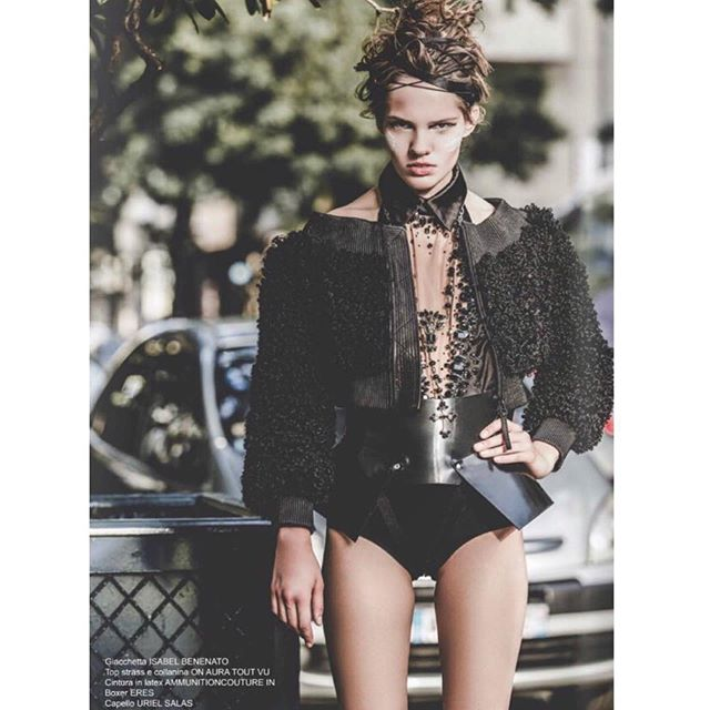 #tbt_Urban Jungle_ New editorial in #lui