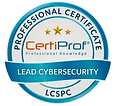 lead-cybersecurity-professional-certific