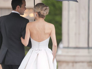Different Kinds of Wedding Dress Bustles