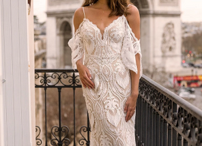 5 Gowns for a Boho Bride
