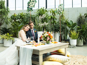 Inspiration: Vibrant Wedding at The Tinsmith