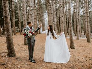 Real Wedding: Hannah and Hayden