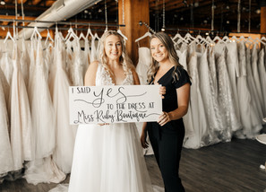 """How Do I Know if a Wedding Dress is """"The One?"""""""