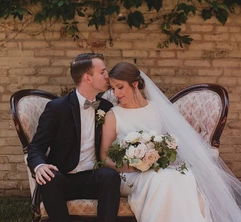 Real Wedding: Rebecca and Phil