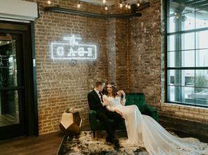 Inspiration: Boho Jewel-Toned Wedding at The Gage