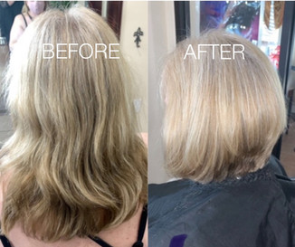Cut highlights and style - Blonde Bar of Katy, TX