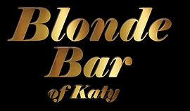 Blond bar of Katy Amy Kat