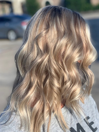Surfer Girl highlights - Blonde Bar of Katy, TX