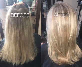 Highlights and conditioning Blonde Bar of Katy, TX