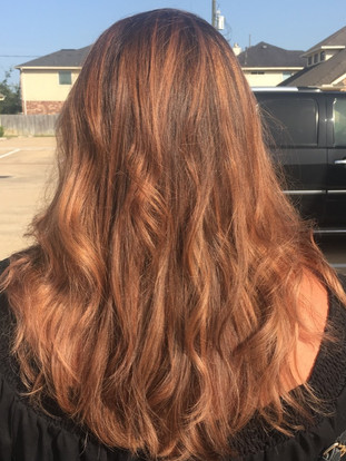 Copper highlights and toner