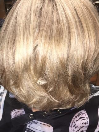 Cut highlights and lowlights - Blonde Bar of Katy, TX