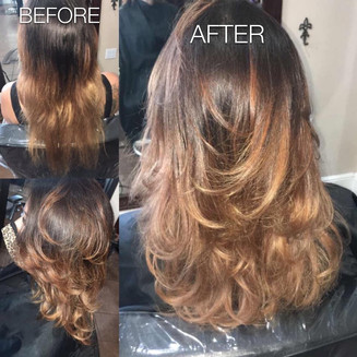 Beautiful after results - Blonde Bar of Katy, TX