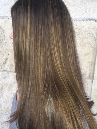 A second view of highlights and cut