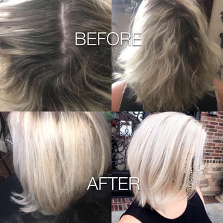 Cut and color - Blonde Bar of Katy, TX