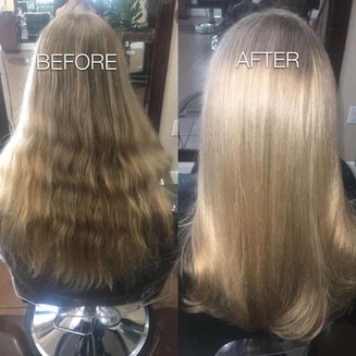 Highlights and styling - Blonde Bar of Katy, TX