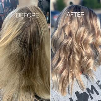 Surfer girl beach hair - Blonde Bar of Katy, TX