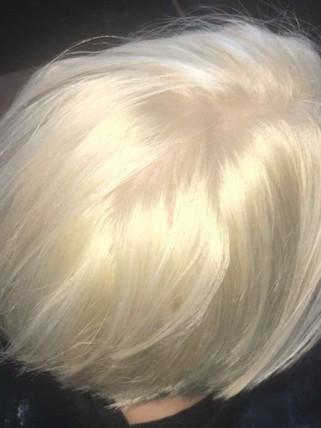 Platinum color correction - Blonde Bar of Katy, TX