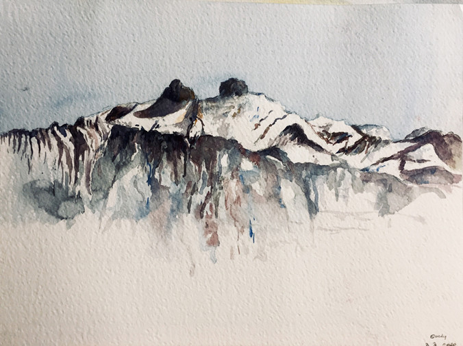 Montagnes - Suisse | Jozefa peintures