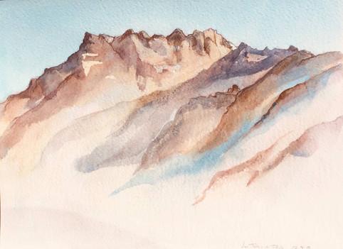 Les Alpes - Suisse | Jozefa peintures