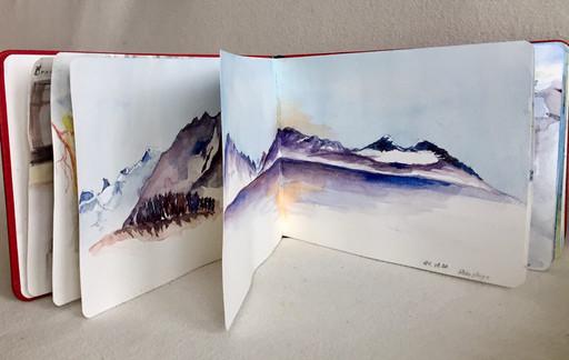 Carnet de voyage-Kerala-Jozefa peintures - A vendre