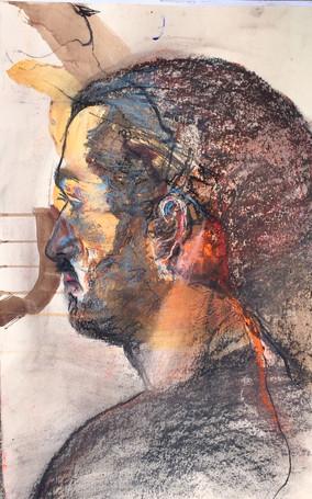 Homme de côté | Jozefa peintures