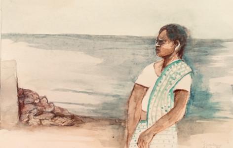 Carnet de voyage-Kerala-Jozefa peintures