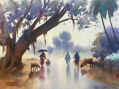 paysage   Jozefa peintures