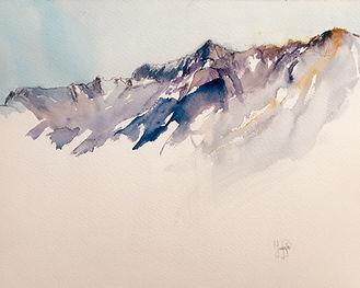 Montagnes des Alpes | Jozefa peintures