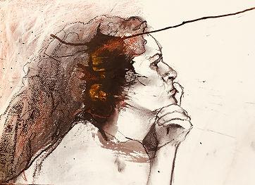 Une pensive | Jozefa peintures