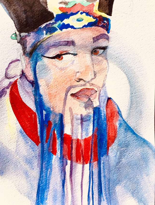 Visage confucius | Jozefa peintures