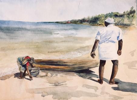 paysage de l'inde | Jozefa peintures