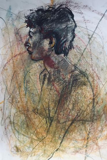 Nu homme | Jozefa peintures