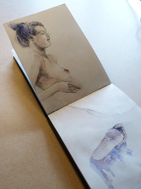 Carnet libre - Jozefa peintures