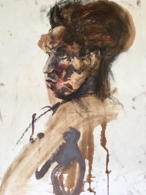 Visage d'une femme | Jozefa peintures