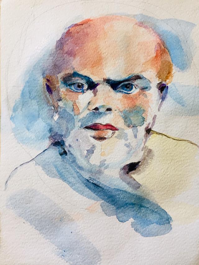 Visage Socrate | Jozefa peintures