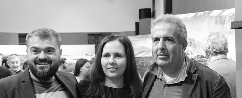Paul Arion, Magda Stroe and Marco Delogu