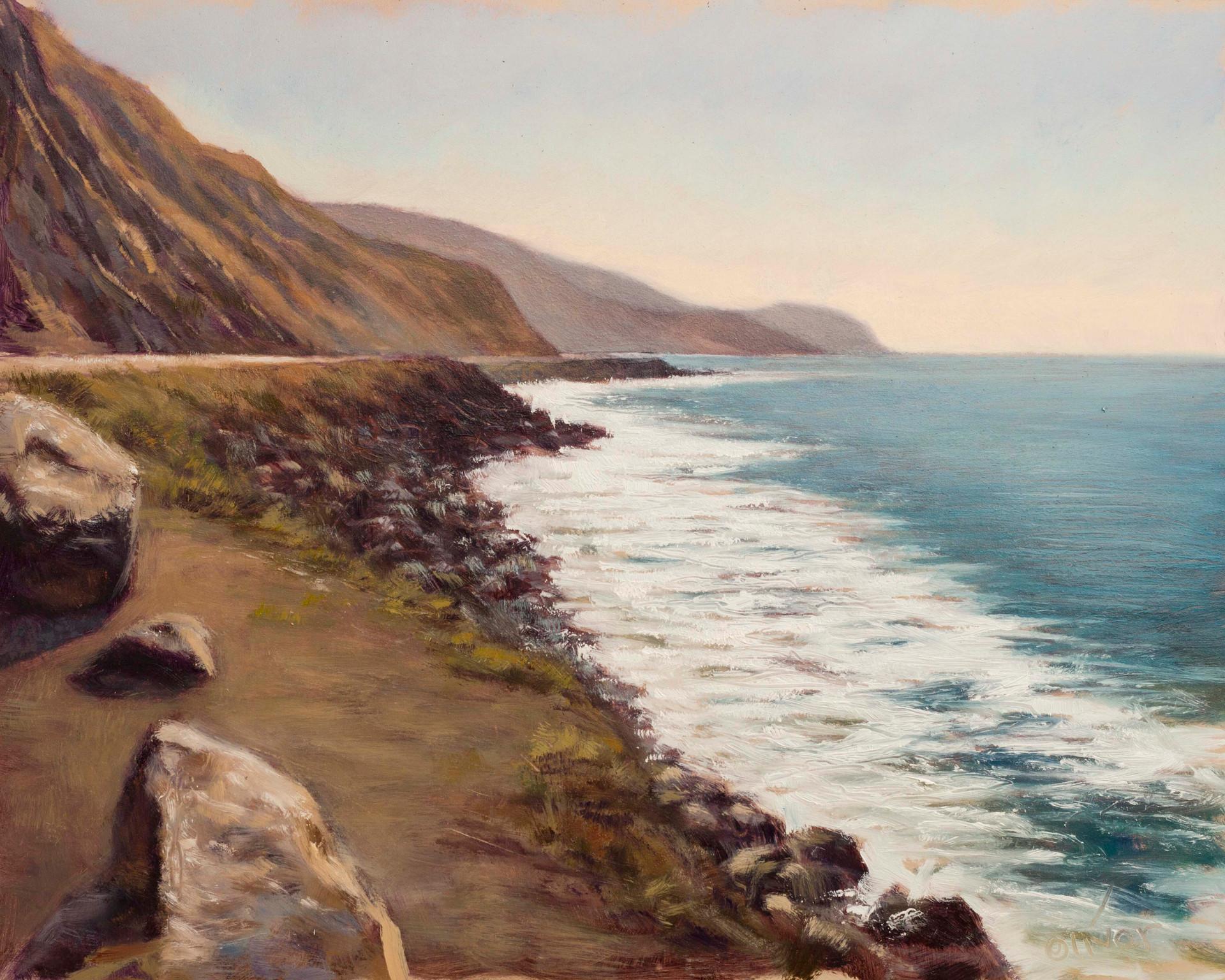 North Malibu coast looking south