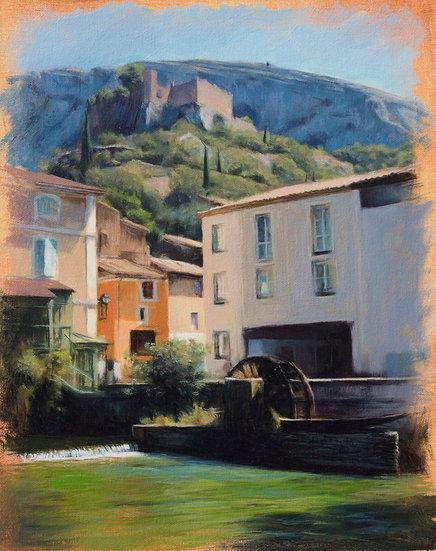 'Fontaine de Vaucluse, Provence'
