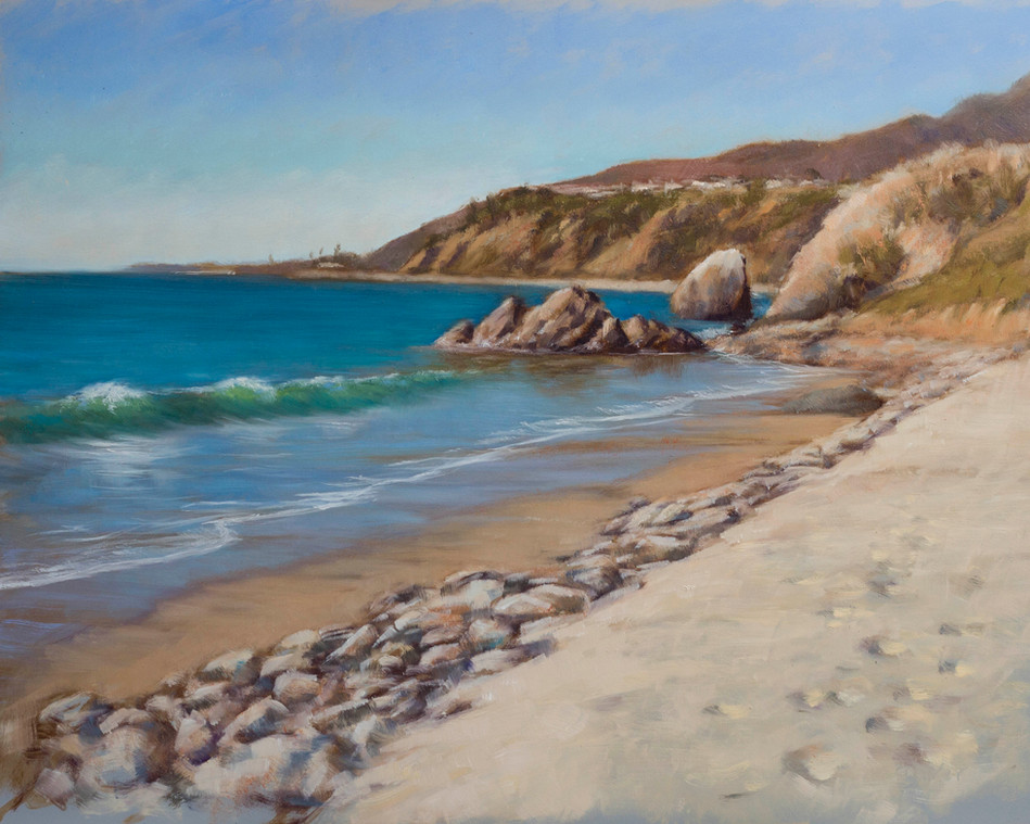 The Beach by Getty Villa