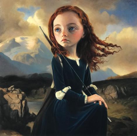Young Goddess Artemis