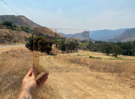 Plein Air Painting Paramount Ranch, Santa Monica Mountains
