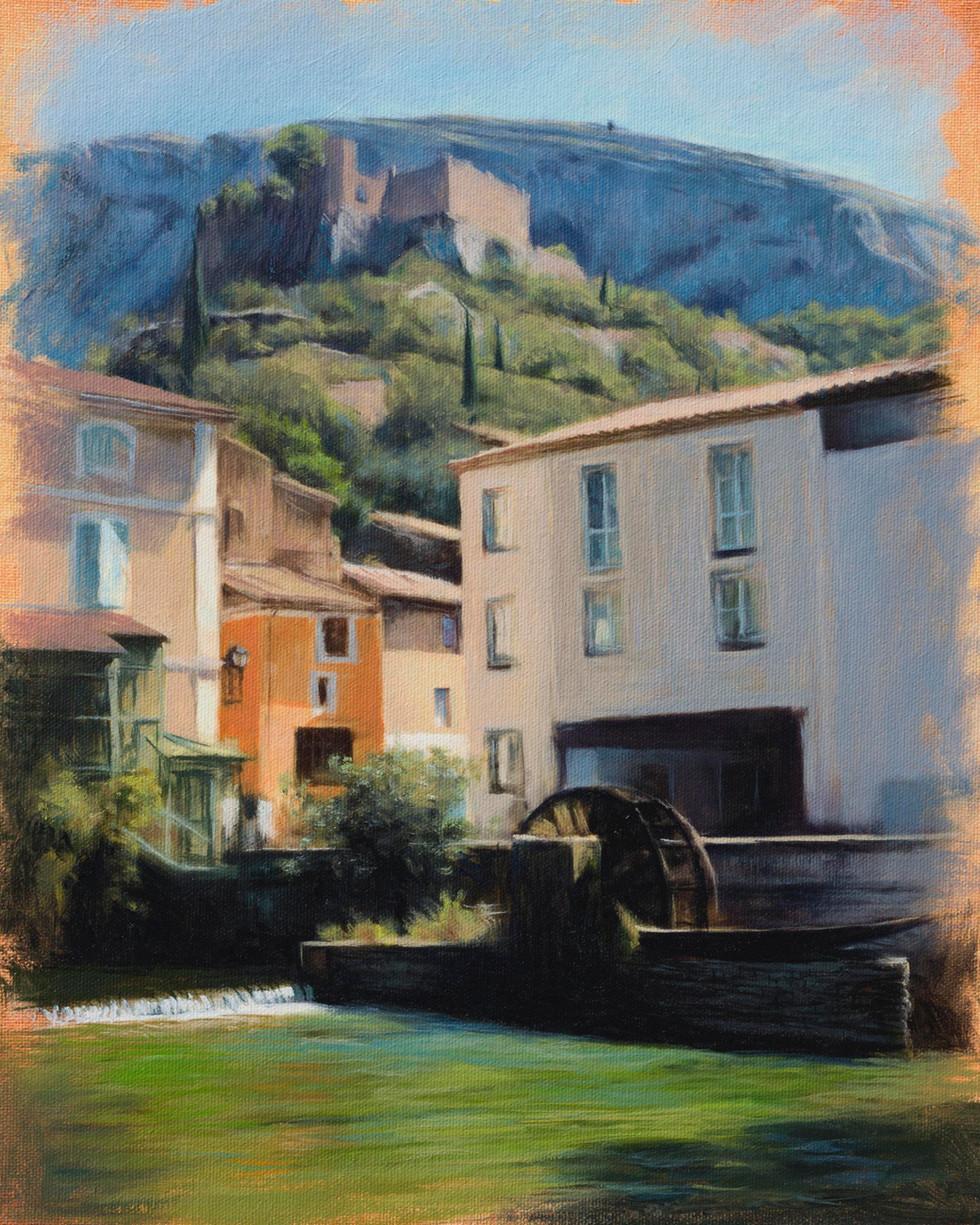 Fontaine de Vaucluse, Provence